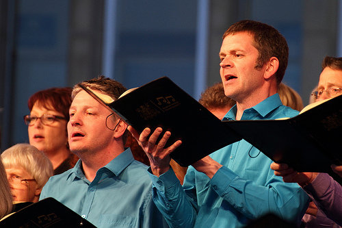 Singing Carmina Burana in CIty Park, 2014