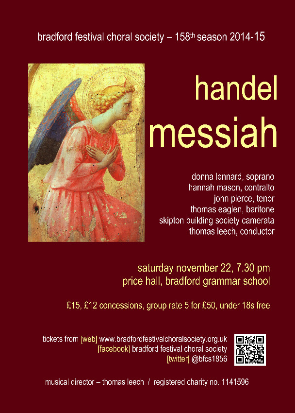 BFCS Messiah 2014 poster