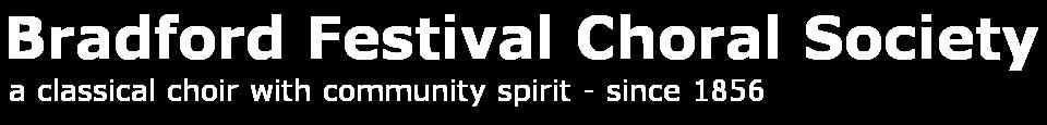 Bradford Festival Choral Society
